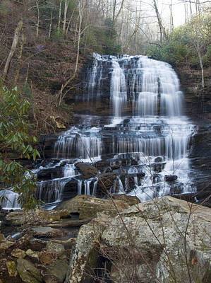 Photograph - Pearsons Falls 3 by Chris Flees
