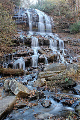 Photograph - Pearson's Falls November 15 C by Joseph C Hinson Photography