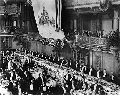 Banquet Photograph - Peary Banquet, 1910 by Granger