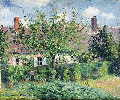Peasant House At Eragny Art Print