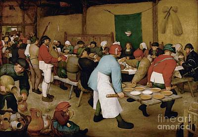 Sheep - Peasant Wedding by Celestial Images