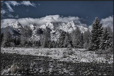 Photograph - Pebbled Beach Teton by Erika Fawcett