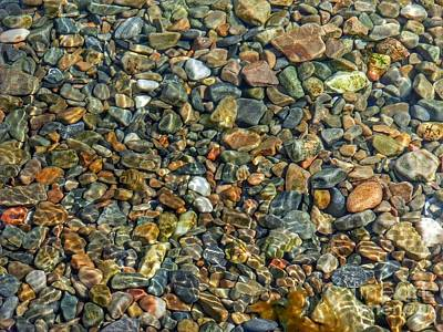 Photograph - Pebbled Shore At Ullapool by Joan-Violet Stretch