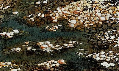 Painting - Pebbles by Anastasiya Malakhova