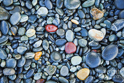 Photograph - Pebbles by Colin and Linda McKie