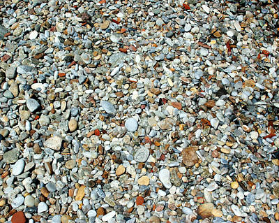 Photograph - Pebbles In The Sand by Sabrina L Ryan