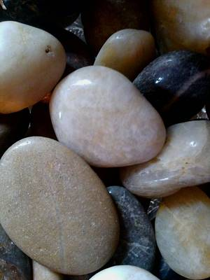 Photograph - Pebbles by Jaime Neo