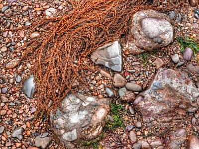 Photograph - Pebbles On The Beach by Gill Billington