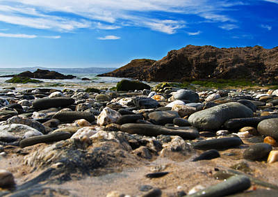 Beach Photograph - Pebbles by Paul Howarth