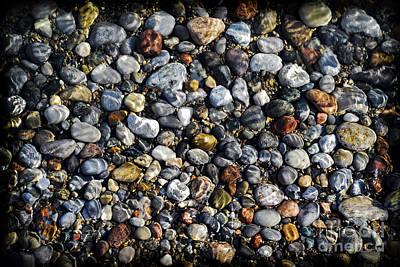 Pebbles Under Water Art Print by Elena Elisseeva