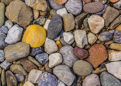 Photograph - Pebblescape II by Mark Robert Rogers