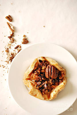 Pecan Pastry Print by HD Connelly