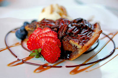 Strawberry Photograph - Pecan Pie by Lisa Phillips