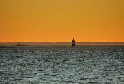 Photograph - Peck Ledge Lighthouse by Steven Richman