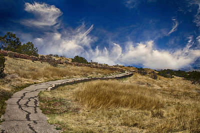 Photograph - Pecos Pueblo Walkway by Bill Barber