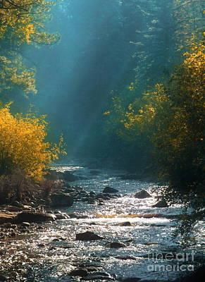 Digital Art - Pecos River Autumn by Tim Richards