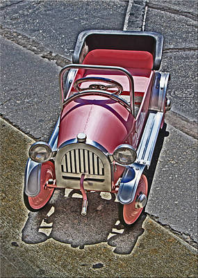 Peddle Car Photograph - Peddle To A Tee by Chet King