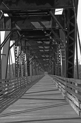 Pedestrian Bridge Original by Hugh Peralta