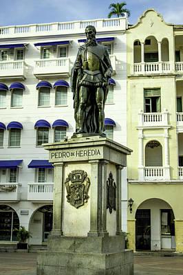 Pedro De Heredia, Founder Of Cartagena Art Print