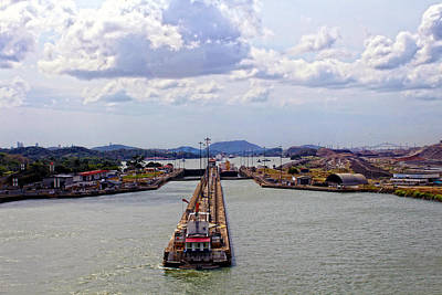 Photograph - Pedro Miguel Lock 2 Panama Canal by Kurt Van Wagner