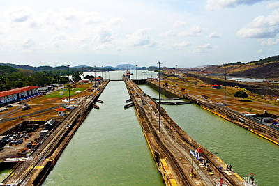 Photograph - Pedro Miguel Locks Panama Canal by Kurt Van Wagner