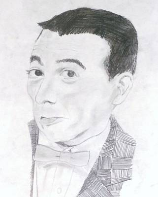 Pee Drawing - Pee Wee by Jeremy Moore