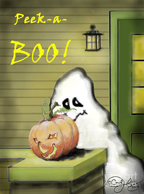 Painting - Peek-a-boo by Carol Jacobs