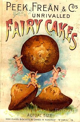 Peek, Frean And Co 1890s Uk Fairy Cakes Art Print by The Advertising Archives
