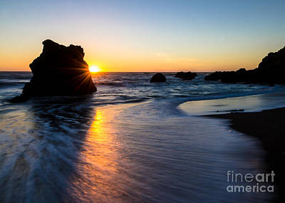 Photograph - Peeking Sun by CML Brown