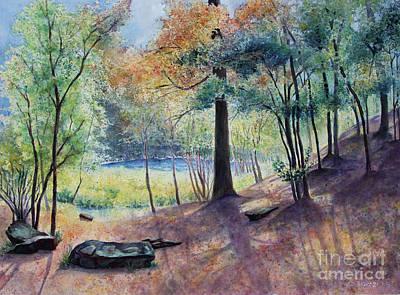 Painting - Peekskill Park by Carole  DiTerlizzi