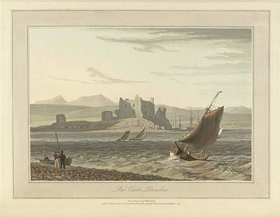 Peel Castle In Lancashire Art Print by British Library