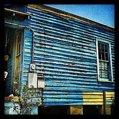 Color Contrast Wall Art - Photograph - Peeling Paint Nola by Glen Abbott
