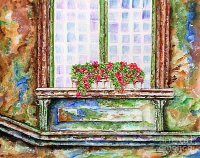 Painting - Peeling Paint by Tamyra Crossley