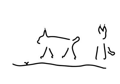 Peeps Wildcats Peep Art Print by Lineamentum