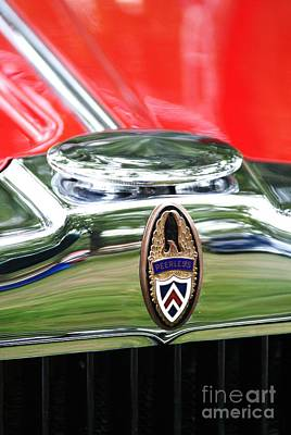 Photograph - Peerless Radiator Emblem by Neil Zimmerman