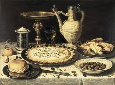 Oil Knife Photograph - Peeters, Clara 1589-1676. Table. Ca by Everett