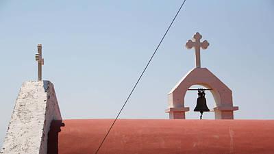 Crusifix Photograph - Pefki by Christoffer Karlsson