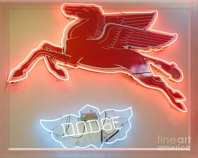 Photograph - Pegasus And Dodge by Barbie Corbett-Newmin
