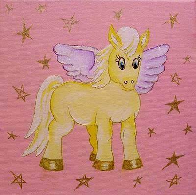 Painting - Pegasus by Anne Gardner
