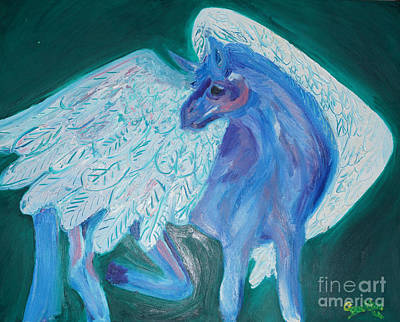 Pegasus Art Print by Cassandra Buckley