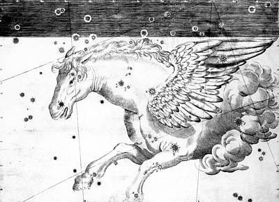 Pegasus Constellation Art Print