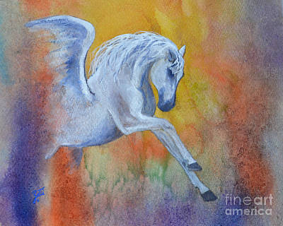 Painting - Pegasus by Suzette Kallen