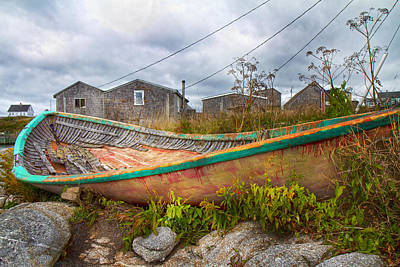 Halifax Nova Scotia Photograph - Peggy's Cove 14 by Betsy Knapp