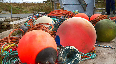 Bouys Photograph - Peggy's Cove 16 by Betsy Knapp