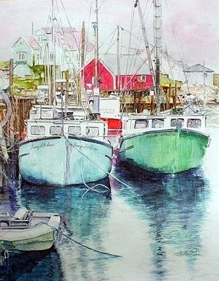 Painting - Peggy's Cove #3 by Annika Farmer