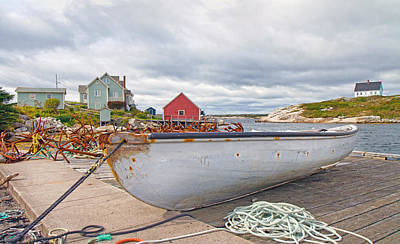 Novae Photograph - Peggy's Cove 3 by Betsy Knapp