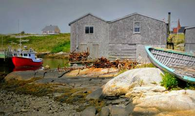 Photograph - Peggy's Cove by Diana Angstadt