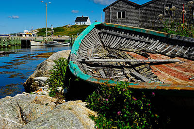 Photograph - Peggy's Cove by Donald Fink