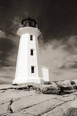 Photograph - Peggy's Cove Lighthouse by Arkady Kunysz