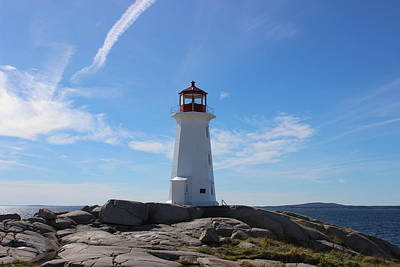 Photograph - Peggy's Cove Lighthouse by Patricia Hiltz